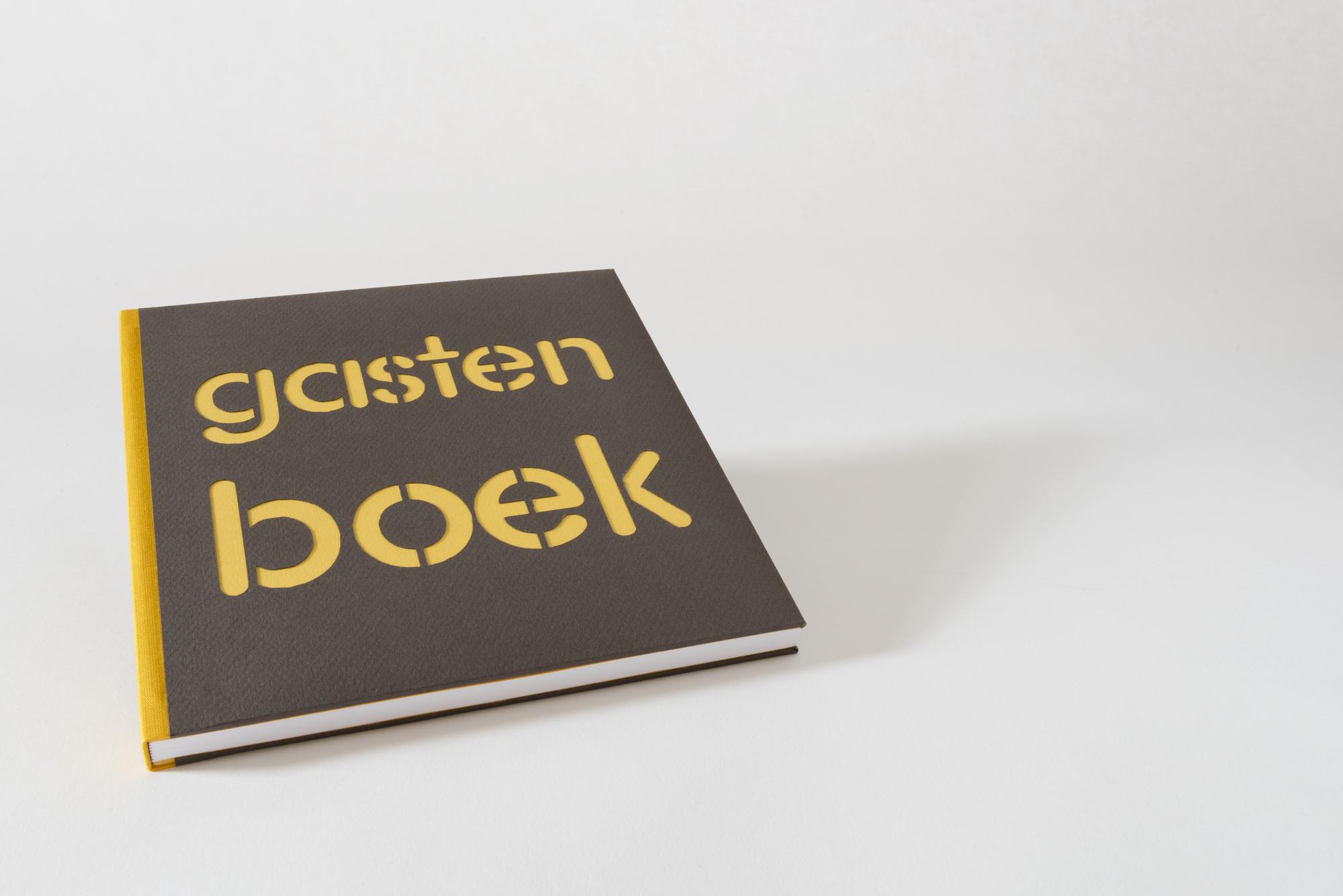 Betty Majoor boekbinder Eindhoven gastenboek